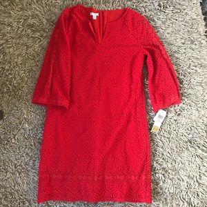 Dresses & Skirts - Mod 60s/70s style Crochet Tunic Dress